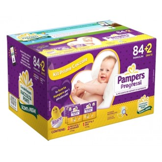 Pampers Progressi Trio Poe86pz